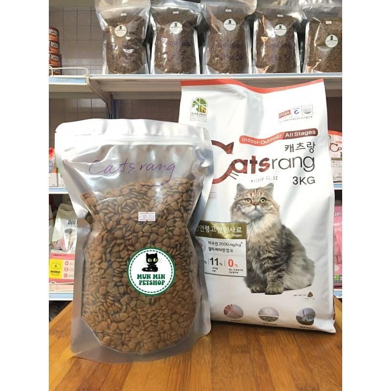 Hạt khô cho mèo Catsrang