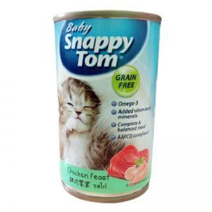 Pate Baby Snappy Tom Cho Mèo Con
