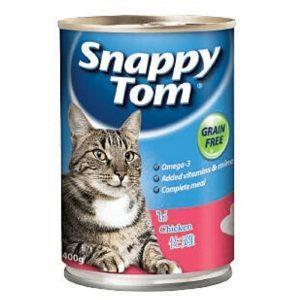 Pate cho mèo snappy tom dạng lon