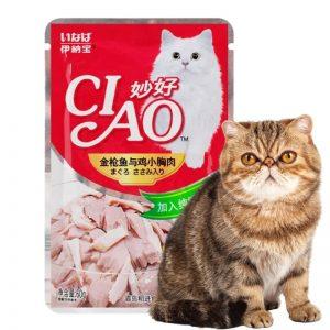 Pate Ciao cho mèo mọi lứa tuổi đóng gói 60gr