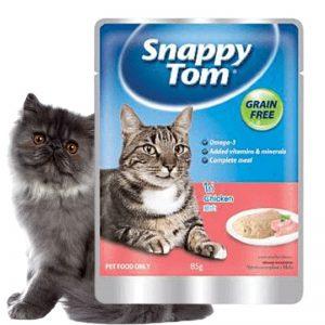 Pate Snappy Tom cho mèo trưởng thành