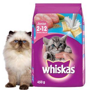 Thức ăn cho mèo con whiskas Junior