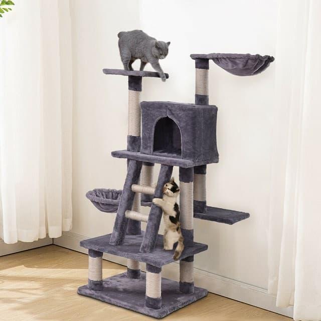 Chọn cat tree có tính năng phù hợp với sở thích và thói quen của mèo