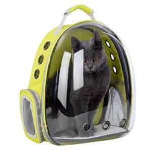 Balo phi hành gia cho mèo cưng dạng trong suốt