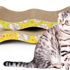 Bàn cào móng cho mèo bằng giấy ép