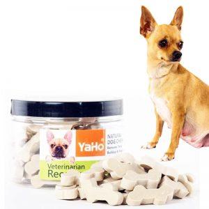 Bánh thưởng Yaho cho chó vừa giúp huấn luyện chó vừa giúp chắc răng, thơm miệng thú cưng