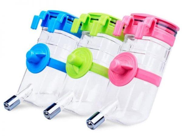 Bình nước treo lồng tự động cung cấp nước cho chó mèo loại sịn