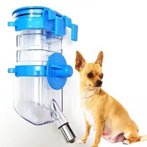Bình nước tự động treo lồng cho chó mèo