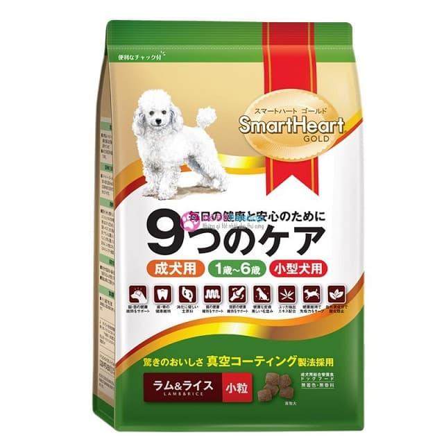 Thức ăn khô cho chó trưởng thành SmartHeart Gold Small