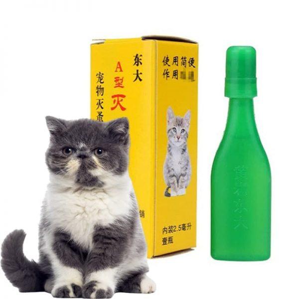 Thuốc Nhỏ Gáy Trị Ve Rận cho chó mèo có xuất sứ Đài Loan