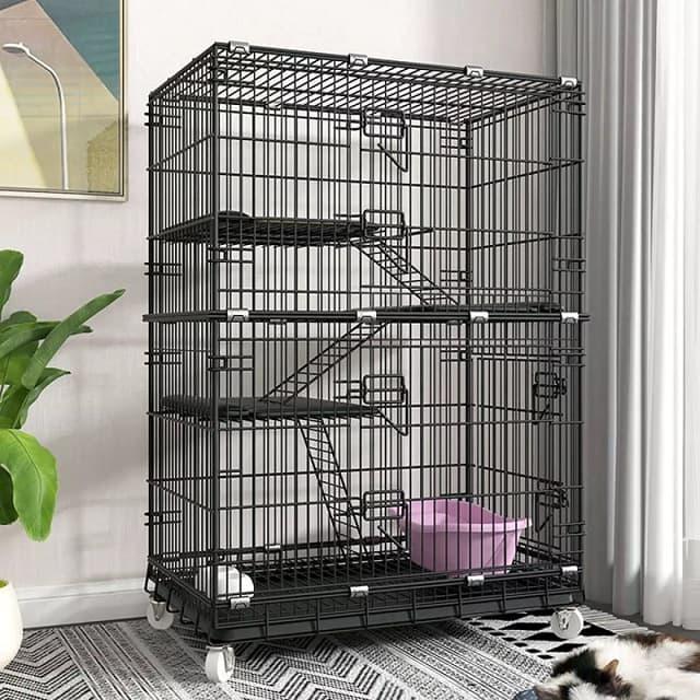 Chi phí chuồng mèo tùy thuộc vào chất liệu, kết cấu