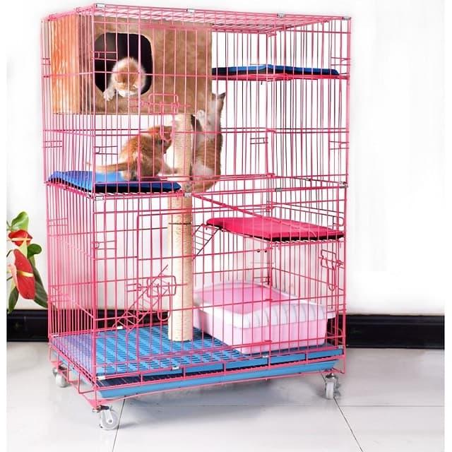 Mua chuồng mèo chất lượng, đảm bảo an toàn cho vật nuôi