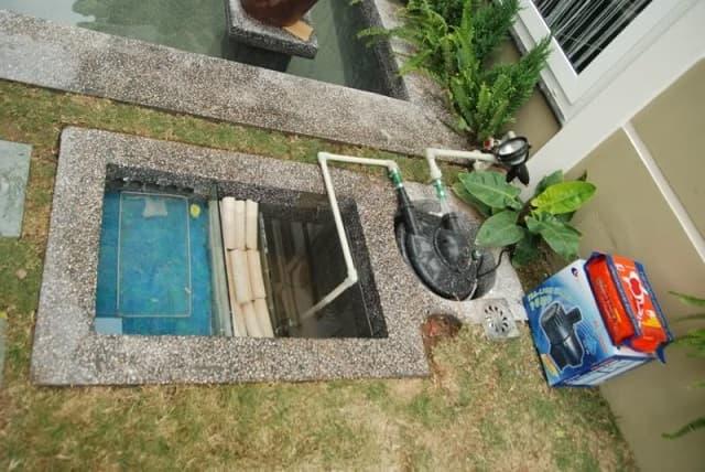 Sử dụng hệ thống bơm nước sạch để cung cấp môi trường nước được cân bằng