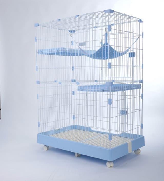 Thiết kế chuồng dành cho con sen nuôi nhiều mèo trong cùng nhà