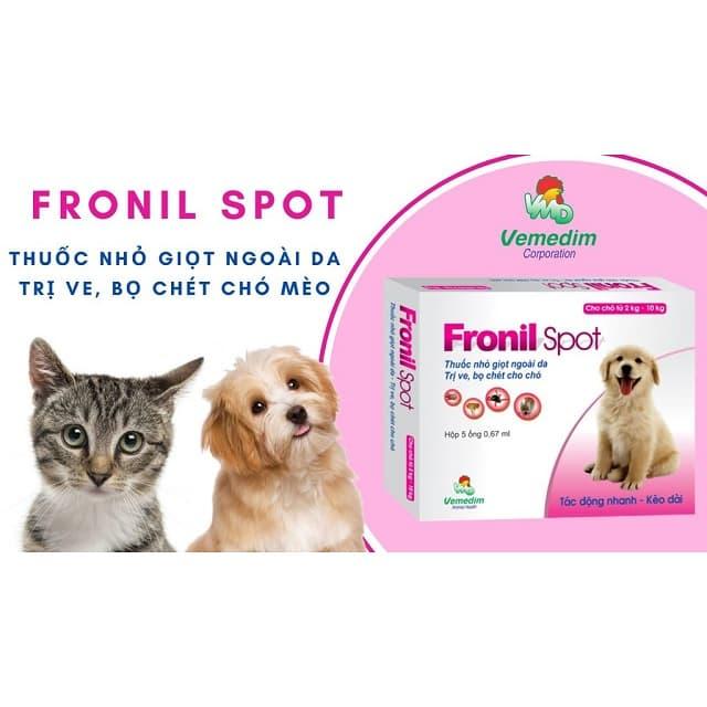 Thuốc nhỏ gáy dành cho mèo được nghiên cứu và sản xuất tại Việt Nam